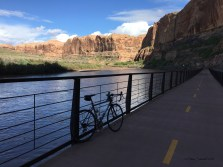 Scenic Hwy 128 and this trail parallel the Colorado River