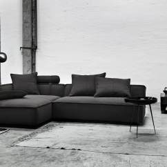 Eilersen Sofa Baseline M Chaiselong Stressless Disassembly Gotham