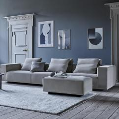 Eilersen Sofa Baseline M Chaiselong Modern Living Room Ideas With Grey