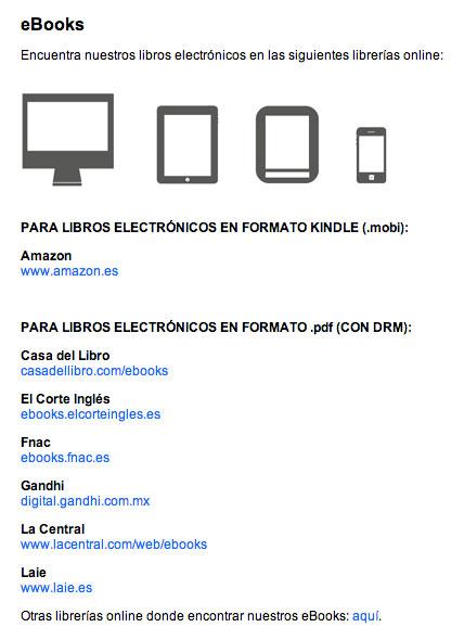 Librerías online