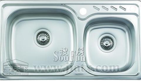kitchen sink size moen 摩恩厨房水槽大小槽不锈钢厨盆23633 报价价格图片参数 整体厨房 橱柜 橱柜厨房配件厨房水槽 房天下装修家居网
