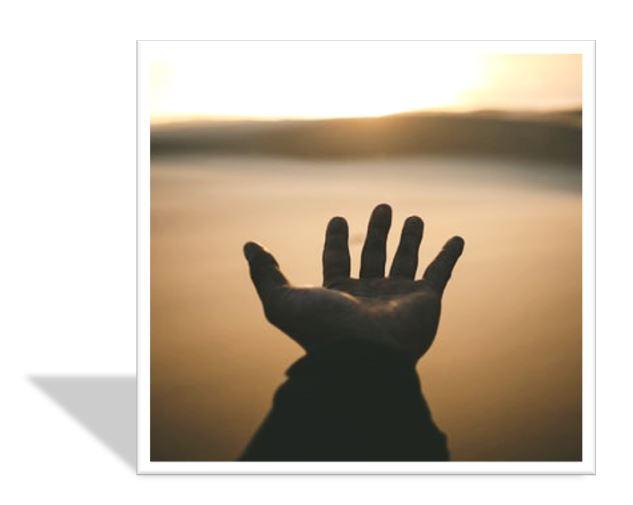 lending hand