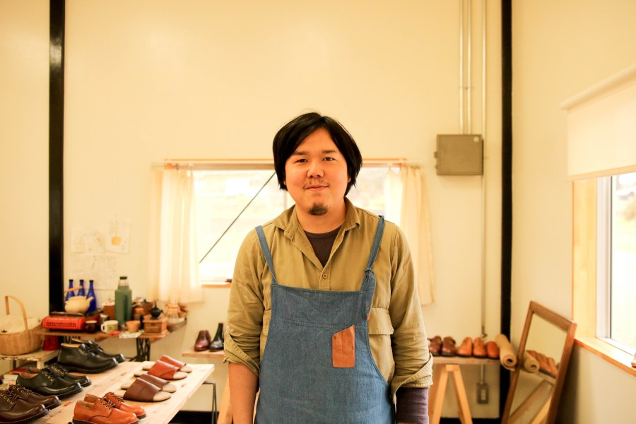 【kino shoe works】木下藤也