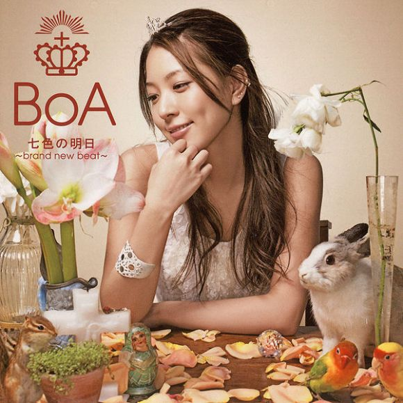 BoA - Nanairo no Ashita ~brand new beat~ / Your Color (七色の明日 ~brand new beat~; Rainbow's Tomorrow)