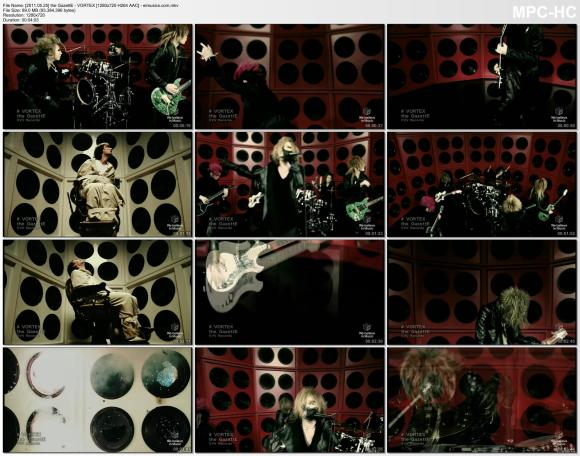 the GazettE - VORTEX [720p]  AAC]