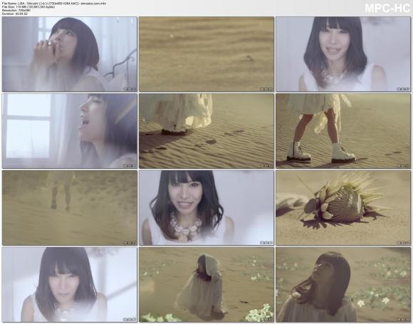 LiSA - Shirushi (シルシ; Sign) [480p]  AAC]