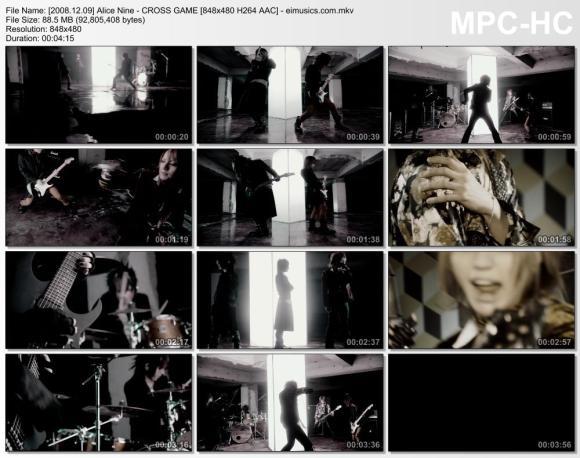 Download Alice Nine - CROSS GAME [480p]   [PV]
