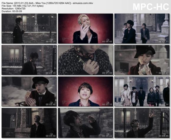 Download AAA - Miss You [720p]   [PV]