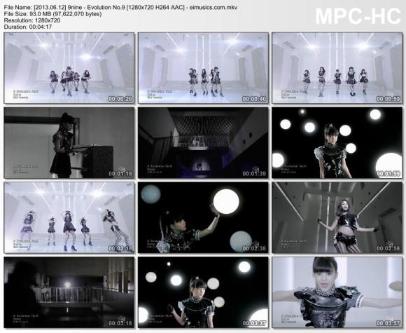 Download 9nine - Evolution No.9 [720p]   [PV]