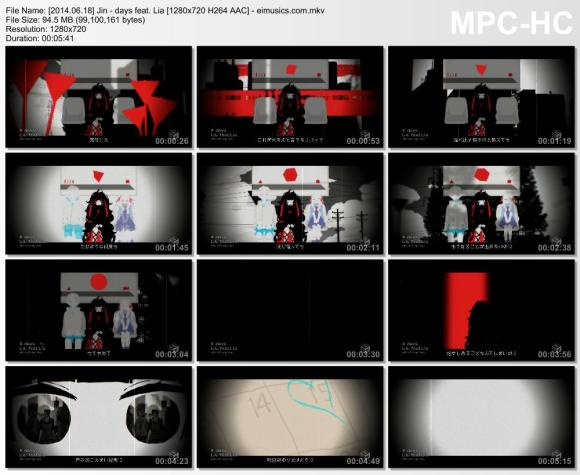 Download Jin - days feat. Lia [720p]   [PV]