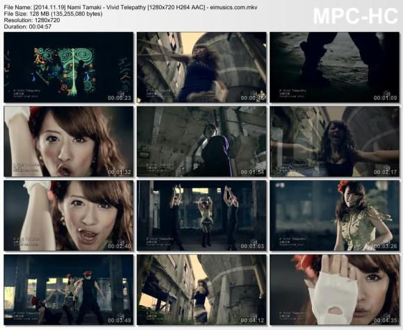 Download Nami Tamaki - Vivid Telepathy [720p]   [PV]