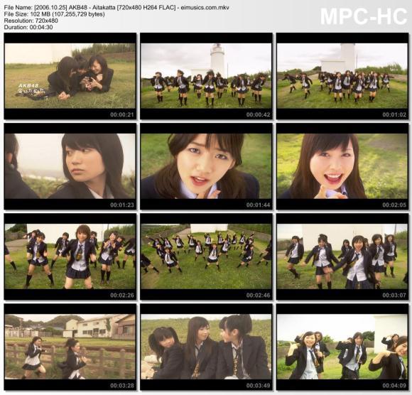 Download AKB48 - Aitakatta [480p]   [PV]