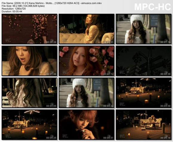 Download Kana Nishino - Motto... [720p]  [PV]