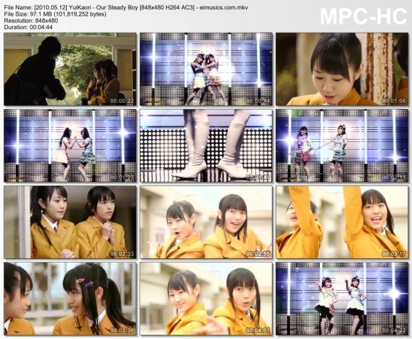 Download YuiKaori - Our Steady Boy [480p]  [PV]