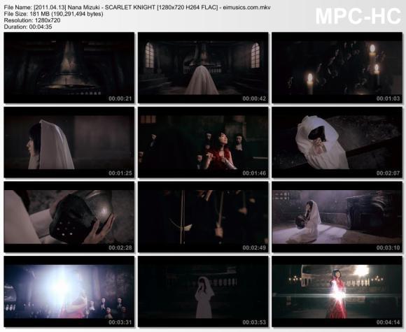 Download Nana Mizuki - SCARLET KNIGHT [720p]   [PV]