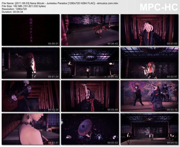 Download Nana Mizuki - Junketsu Paradox [720p]   [PV]