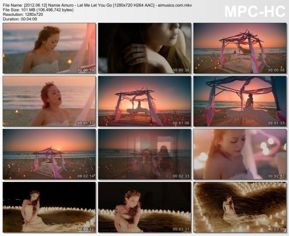 Download Namie Amuro - Let Me Let You Go [720p]   [PV]