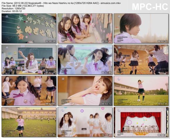 Download Nogizaka46 - Hito wa Naze Hashiru no ka [720p]   [PV]