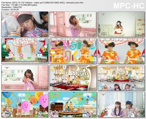 Download YuiKaori - wake up!! [720p]   [PV]