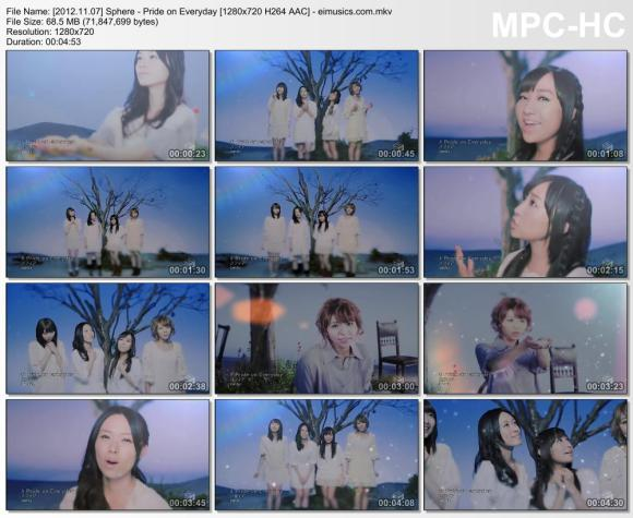 Download Sphere - Pride on Everyday [720p]   [PV]
