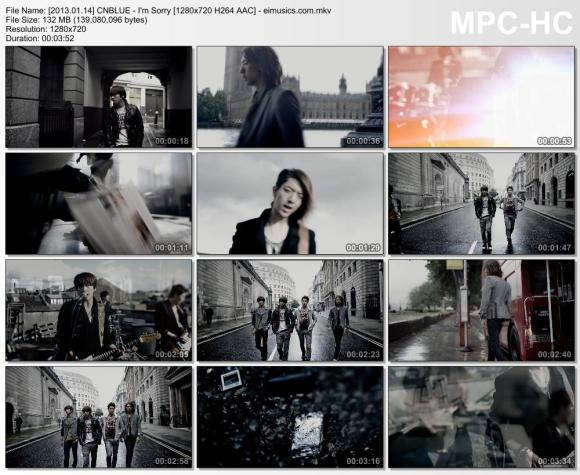 Download CNBLUE - I'm Sorry [720p]   [MV]