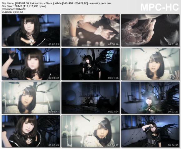 Download Iori Nomizu - Black † White [480p]   [PV]