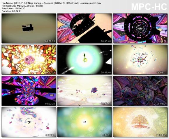 Download Nagi Yanagi - Zoetrope [720p]   [PV]