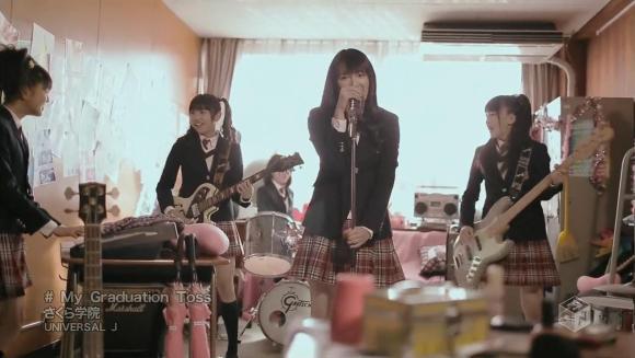 Download Sakura Gakuin - My Graduation Toss [720p]   [PV]