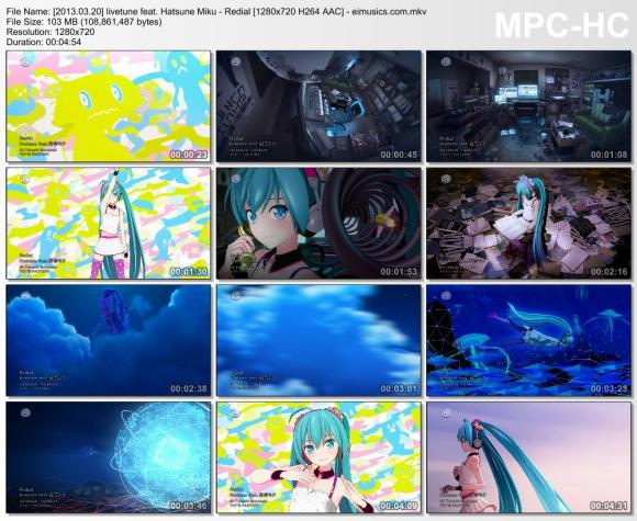 Download livetune feat. Hatsune Miku - Redial [720p]   [PV]