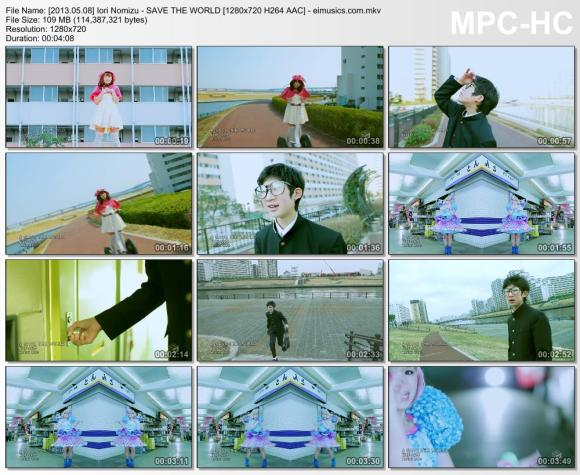 Download Iori Nomizu - SAVE THE WORLD [720p]   [PV]