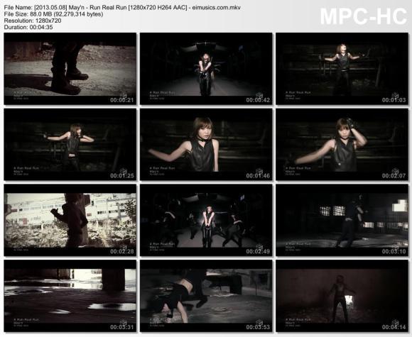 Download May'n - Run Real Run [720p]   [PV]