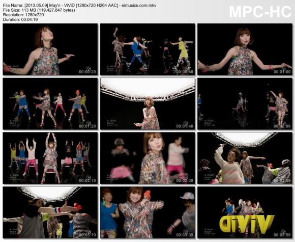Download May'n - ViViD [720p]   [PV]
