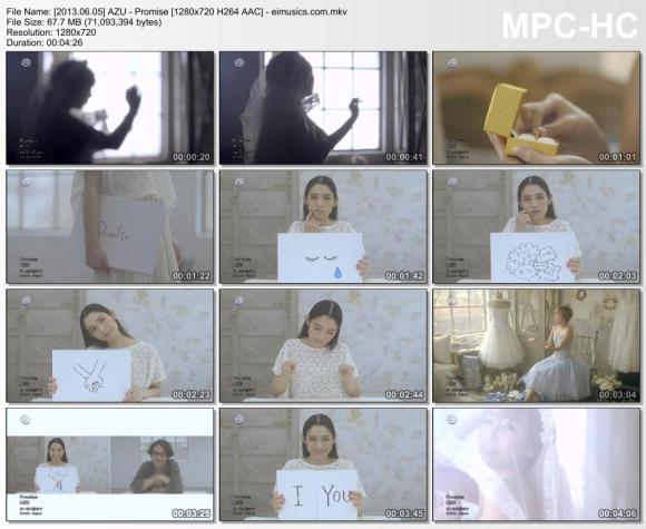 Download AZU - Promise [720p]   [PV]