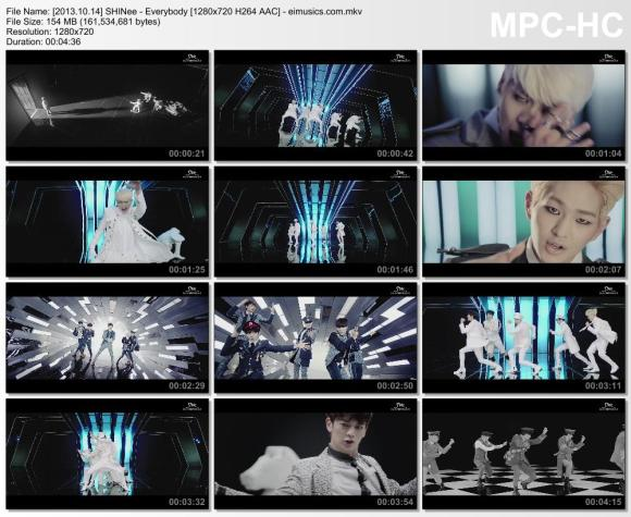 Download SHINee - Everybody [720p]   [MV]