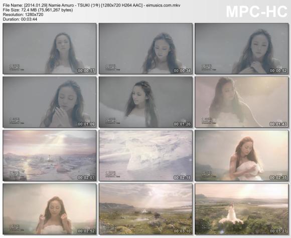 Download Namie Amuro - TSUKI (ツキ) [720p]   [PV]