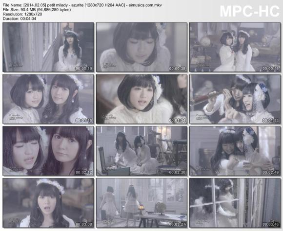 Download petit milady - azurite [720p] [PV]