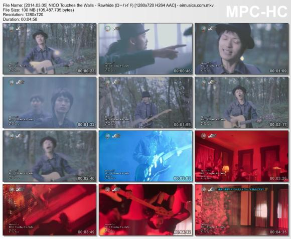 Download NICO Touches the Walls - Rawhide (ローハイド) [720p]   [PV]