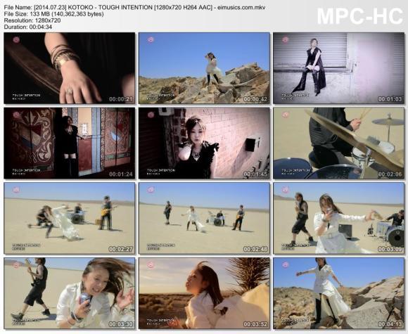 Download KOTOKO - TOUGH INTENTION [720p]   [PV]