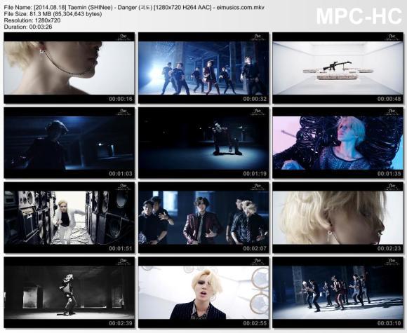Download Taemin (SHINee) - Danger (괴도) [720p]   [MV]