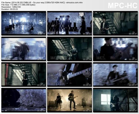 Download CNBLUE - Go your way [720p]   [MV]
