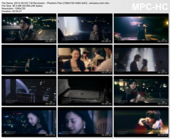 Download T.M.Revolution - Phantom Pain [720p]   [PV]