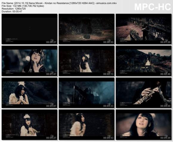 Download Nana Mizuki - Kindan no Resistance [720p]   [PV]