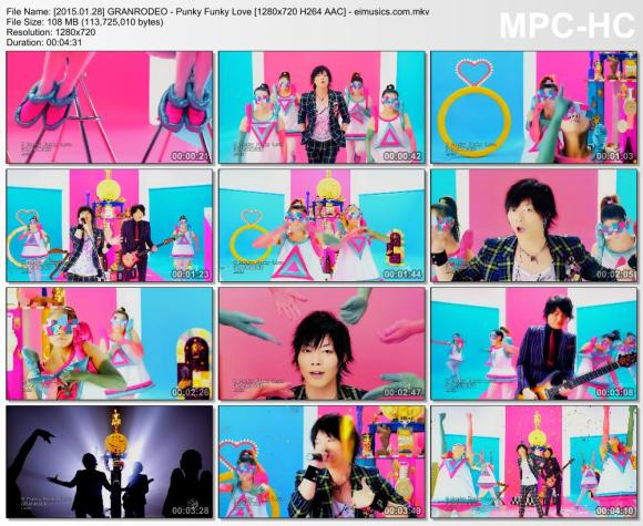 Download GRANRODEO - Punky Funky Love [720p]   [PV]