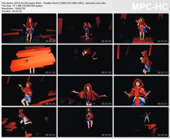 Download Ayami Muto - Parallel World [720p]   [PV]