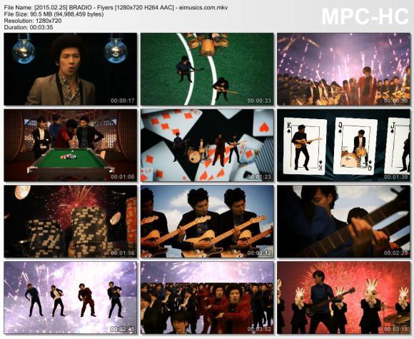 Download BRADIO - Flyers [720p]   [PV]