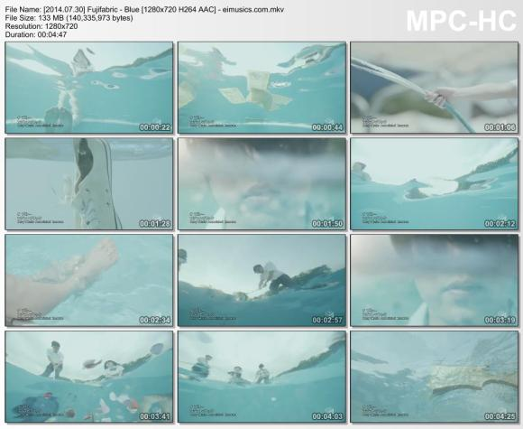 Download Fujifabric - Blue [720p]   [PV]
