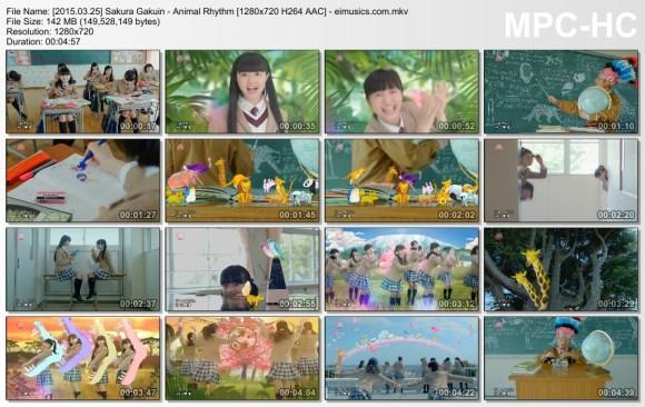 Download Sakura Gakuin - Animal Rhythm [720p]   [PV]