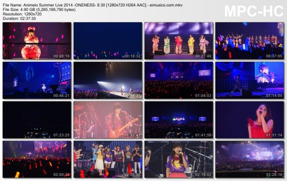 Download Animelo Summer Live 2014 -ONENESS- 8.30 [720p]   [Concert]