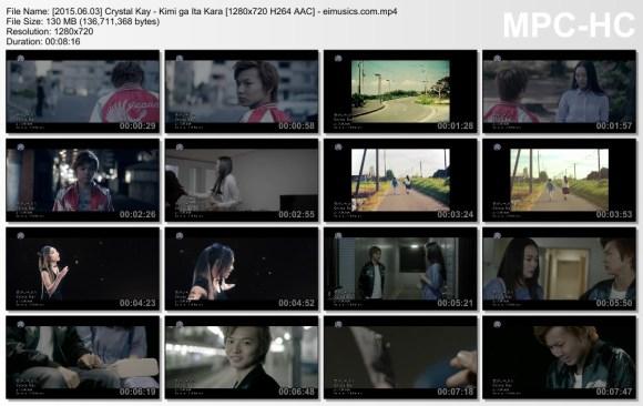 Download Crystal Kay - Kimi ga Ita Kara [720p]   [PV]