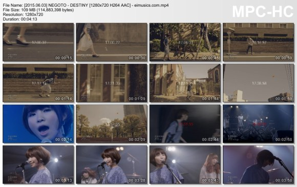 Download NEGOTO - DESTINY [720p]   [PV]